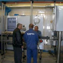 Монтаж оборудования для молока
