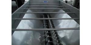 Бункер-питатель из нержавеющей стали