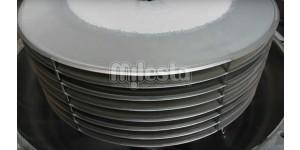 диски в фильтре диатомитовом кизельгуровом для фильтрации пива