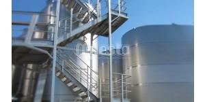 Лестницы и ограждения из нержавеющей стали