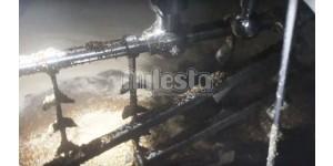 процесс смешивания солда и воды в заторном чане