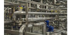 обвязка трубопроводами технологического оборудования на хим заводе