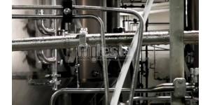 трубопроводы для водочного завода из нержавеющей стали
