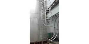 Силосы для хранения сыпучих материалов из нержавеющей стали