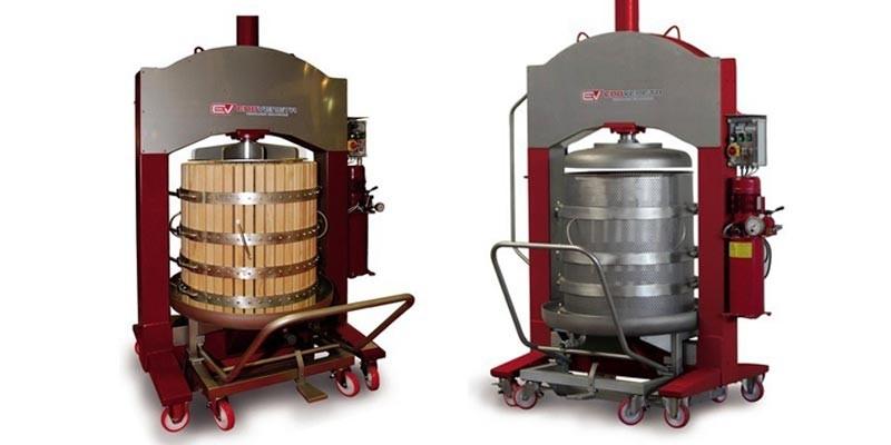 Пресс корзиночный для прессования цельного винограда