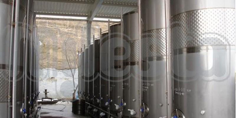 Емкости для брожения с гидрозатвором из нержавеющей стали