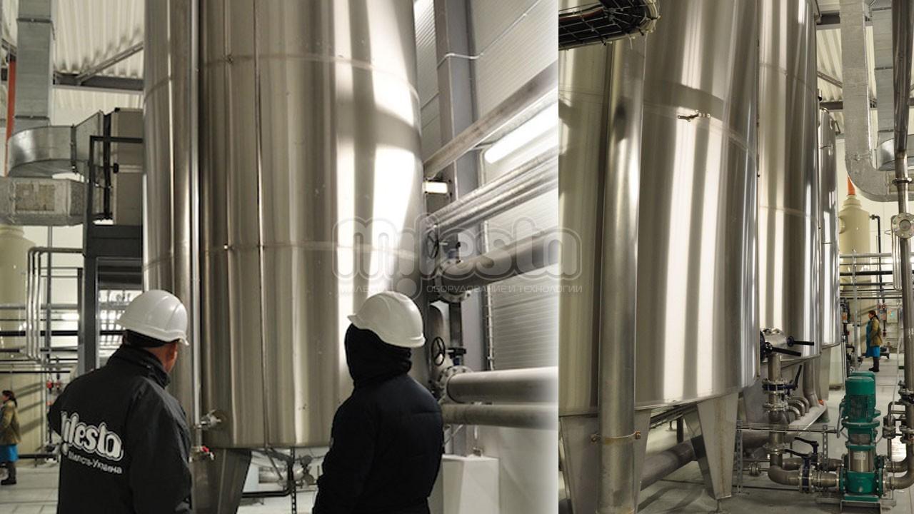 Емкость для хранения воды, пива из нержавеющей стали