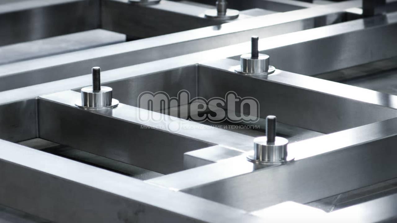 станина центробежного сепаратора из нержавеющей стали