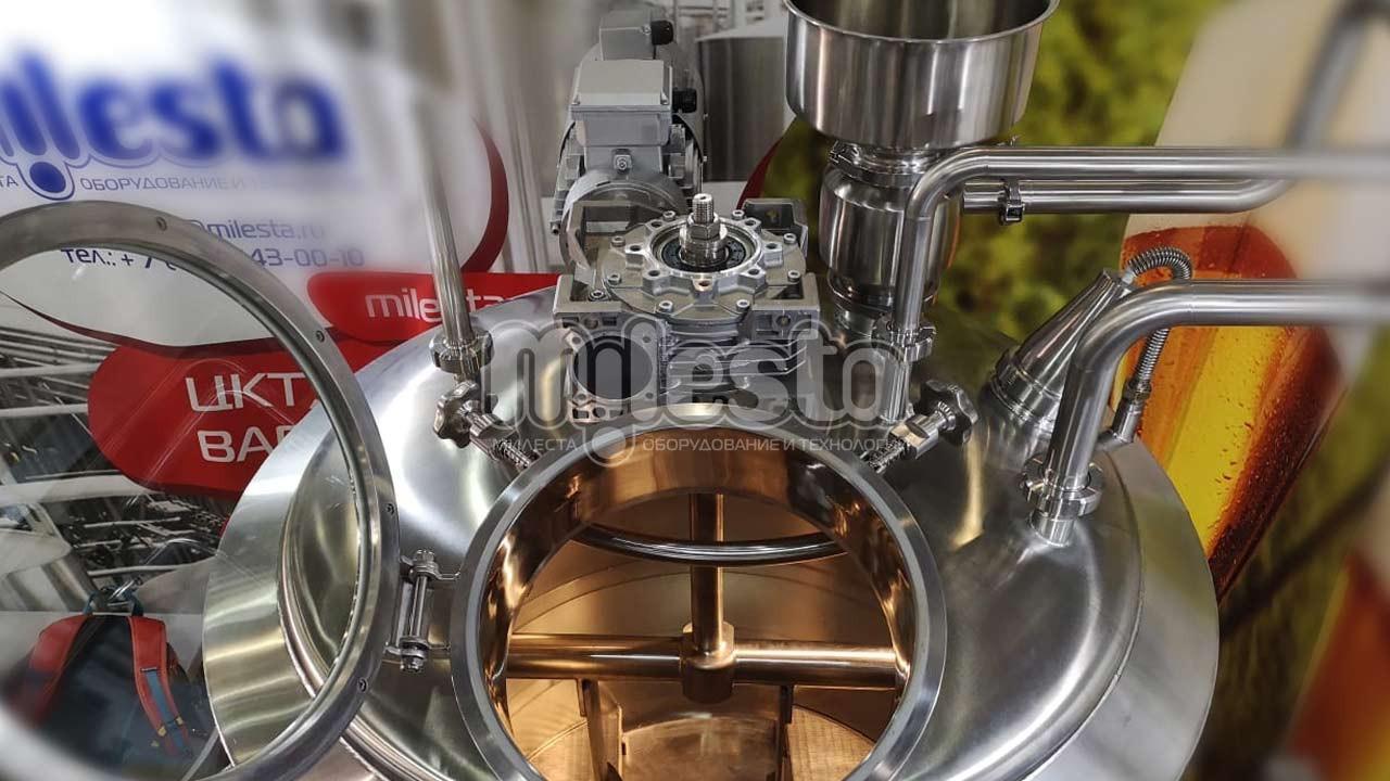 Заторный чан из нержавеющей стали для пива