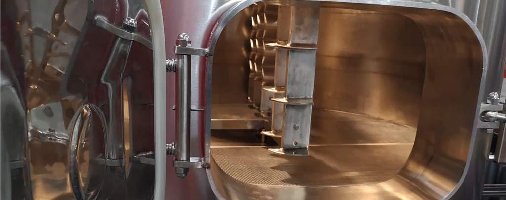 емкость с мешалкой для варки пива