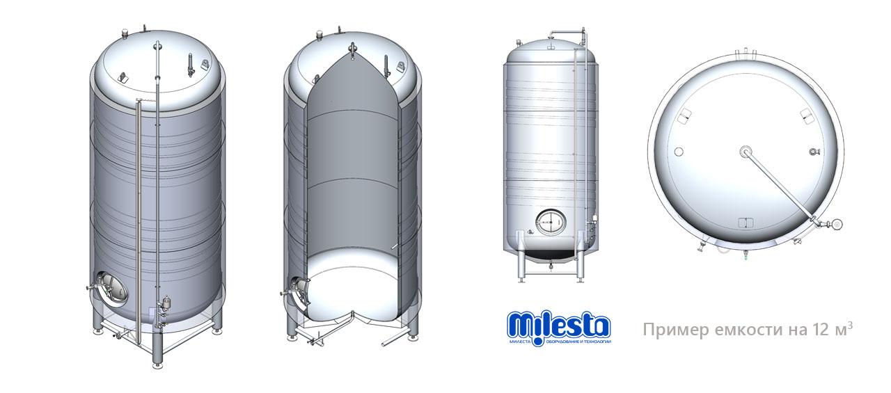 Схема форфаса из нержавеющей стали для пива