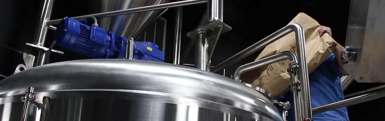 Заторный чан для пива из нержавеющей стали